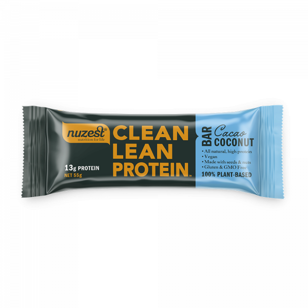 Clean Lean Protein - Baton Proteic - Cacao & Coconut 0
