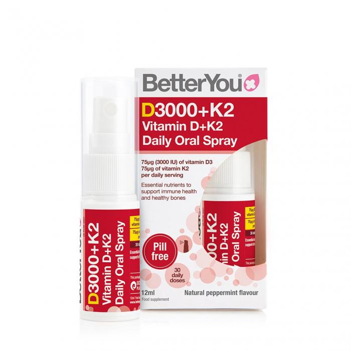 DLux+ Vitamina D3+K2 Oral Spray BetterYou [0]