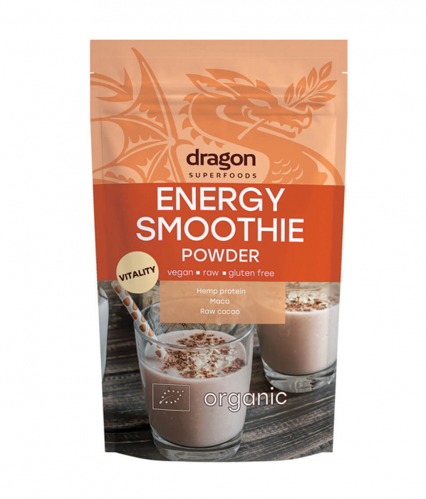 Energy Smoothie Mix, Pulbere raw eco, 200 gr [1]