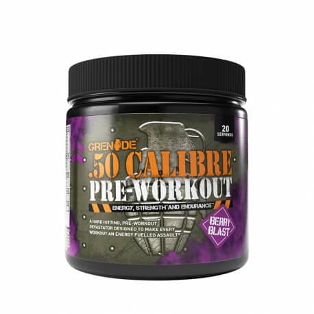Grenade .50 Calibre Pre-Workout Fructe de Padure 232 gr [1]