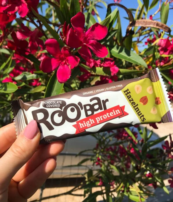 Baton Proteic, Alune de Padure si Ciocolata, Vegan, 40g 0