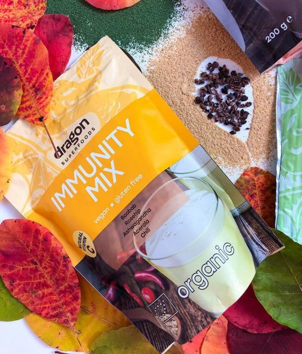 Immunity Mix, pulbere superalimente organice, 150g [0]