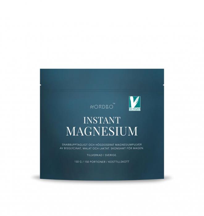 Instant Magneziu NORDBO - Vegan - 150 gr [1]