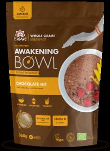Mic dejun instant bio cu ciocolata, in si chia - Iswari - 360g [0]