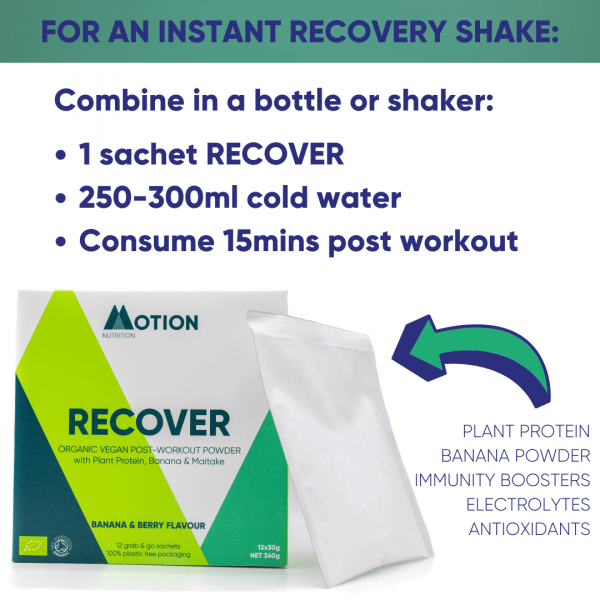 Recover post-workout vegan protein 2