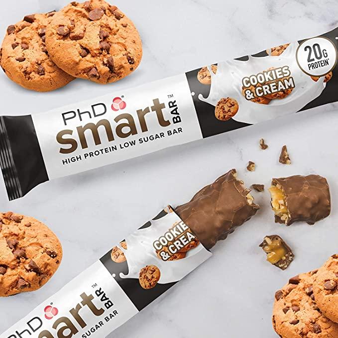 Baton Proteic PhD Smart Bar Biscuiți și Frișcă [0]