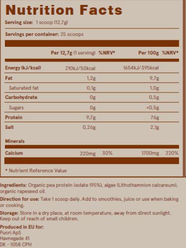 Puori PB - Mix de Proteine Vegetale [2]