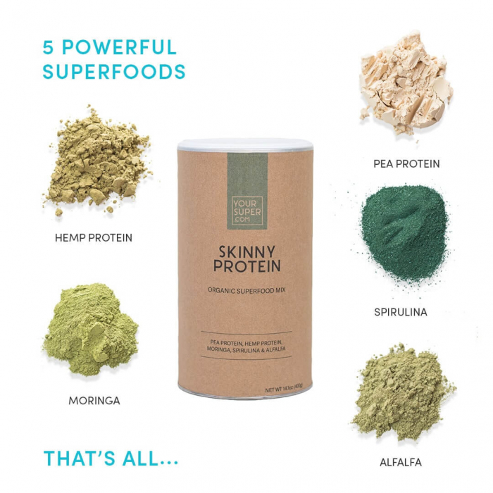 Skinny Protein Organic Superfood Mix [1]