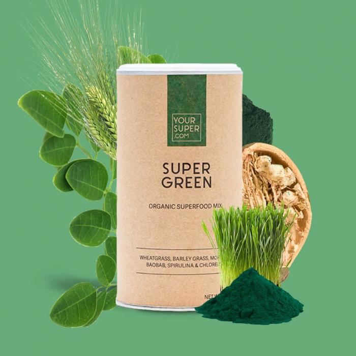 Super Green Organic Superfood Mix [3]