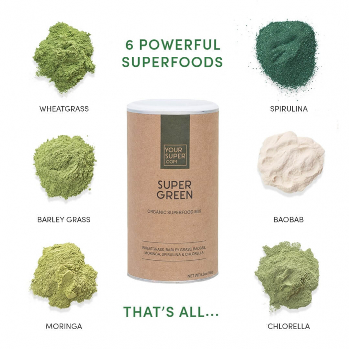 Super Green Organic Superfood Mix [1]