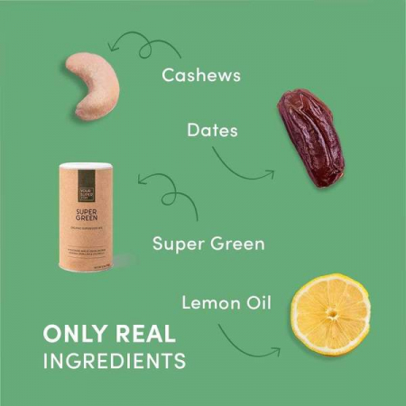 Baton Proteic Super Green - YourSuperFoods [2]