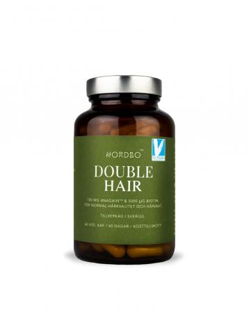 Double Hair NORDBO - Vegan - 60 capsule [1]