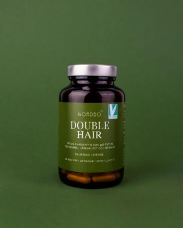 Double Hair NORDBO - Vegan - 60 capsule [0]