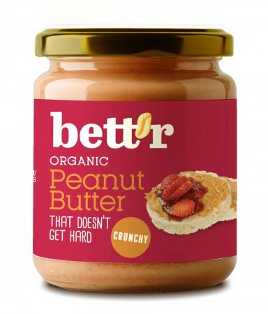Peanut Butter (Unt de arahide), Crocant, Bio, 250g [0]
