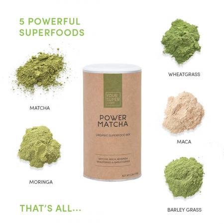 Power Matcha Organic Superfood Mix [1]