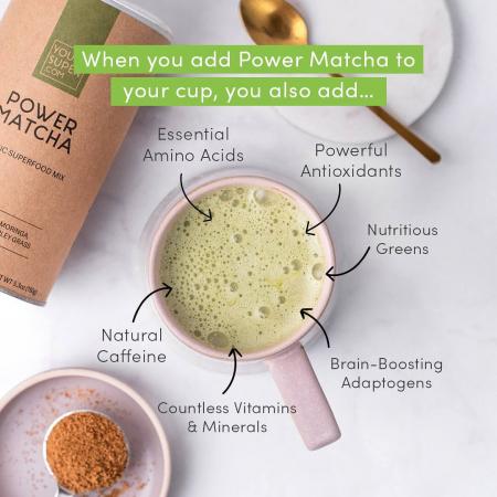Power Matcha Organic Superfood Mix [2]