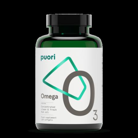 Puori O3 - Omega 3 (Ulei de peste concentrat) - 120 capsule1