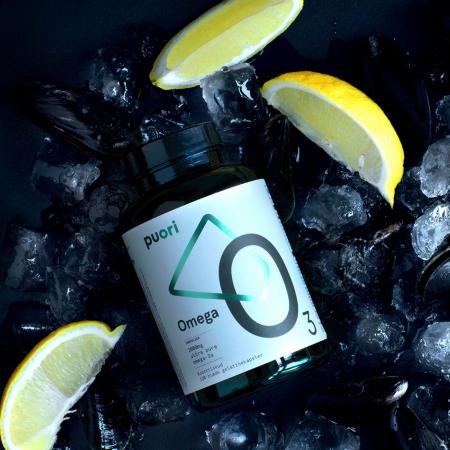 Puori O3 - Omega 3 (Ulei de peste concentrat) - 120 capsule0