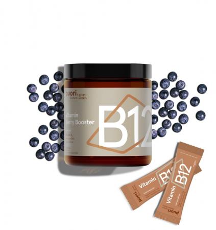 Puori B12 - Vitamina B12 si Afine Sălbatice [0]