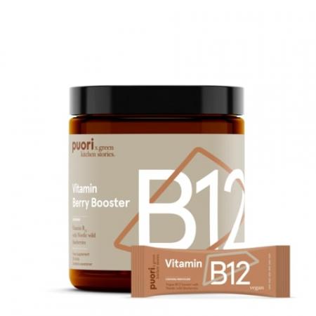 Puori B12 - Vitamina B12 si Afine Sălbatice [1]