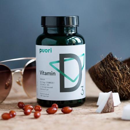 Puori D3 - Vitamina D din surse naturale (2500UI) [0]