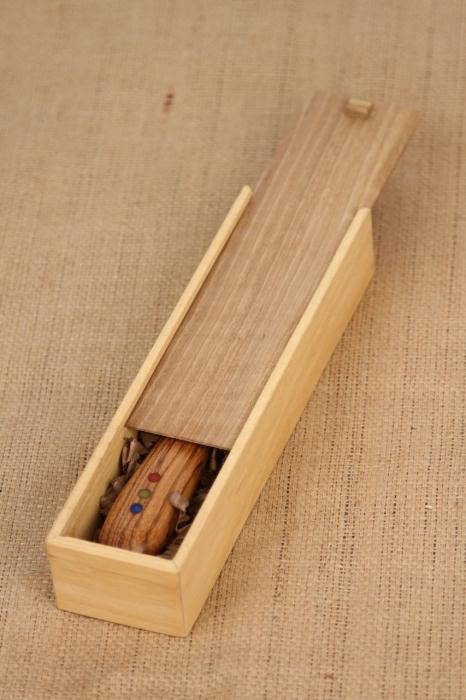 Taietor coca - lemn de nuc 6