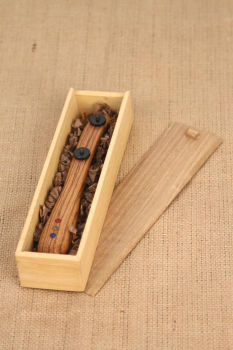 Taietor coca - lemn de nuc 7