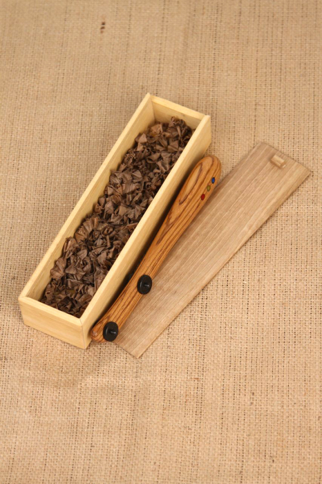 Taietor coca - lemn de nuc 9