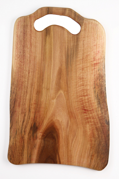 Platou de servire din lemn de nuc, culoare natur. 1