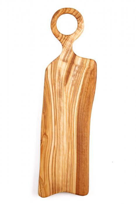 Platou de servire din lemn de maslin. 4