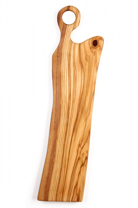 Platou de servire din lemn de maslin. 1