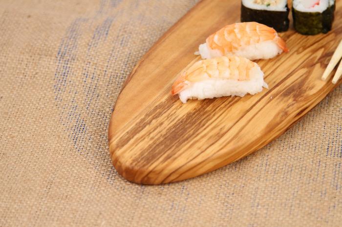 Platou de servire din lemn de maslin 2