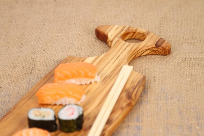 Platou de servire din lemn de maslin 4
