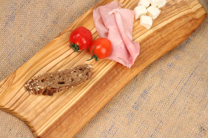 Platou de servire din lemn de maslin. 2