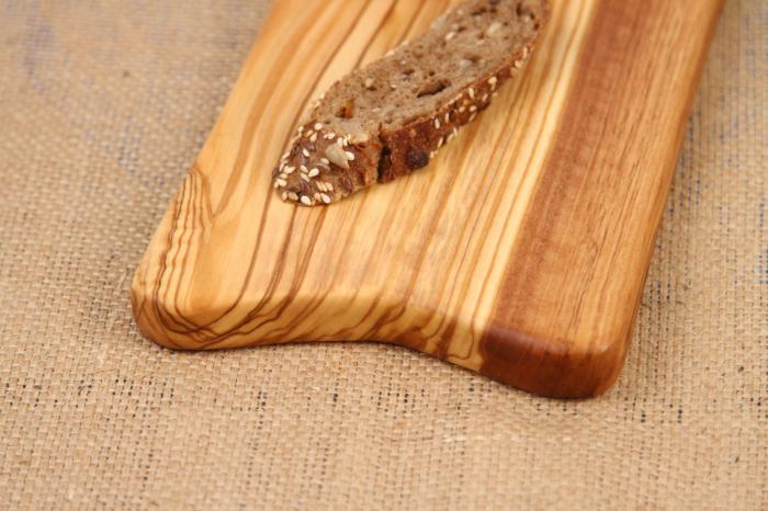 Platou de servire din lemn de maslin. 5