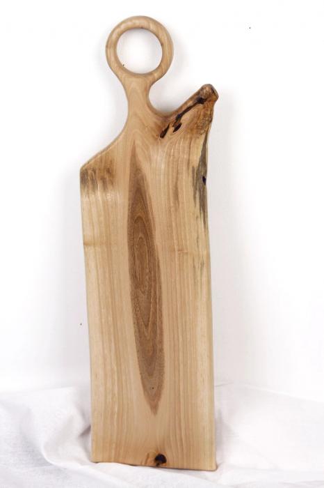 Platou servire din lemn de nuc 4