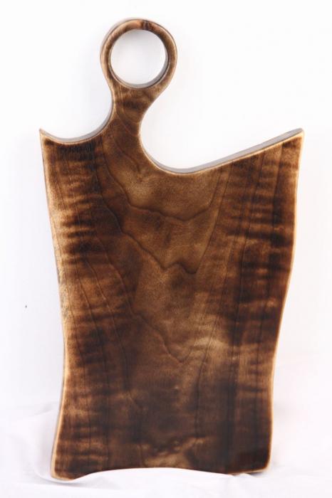 Platou servire din lemn de nuc 5