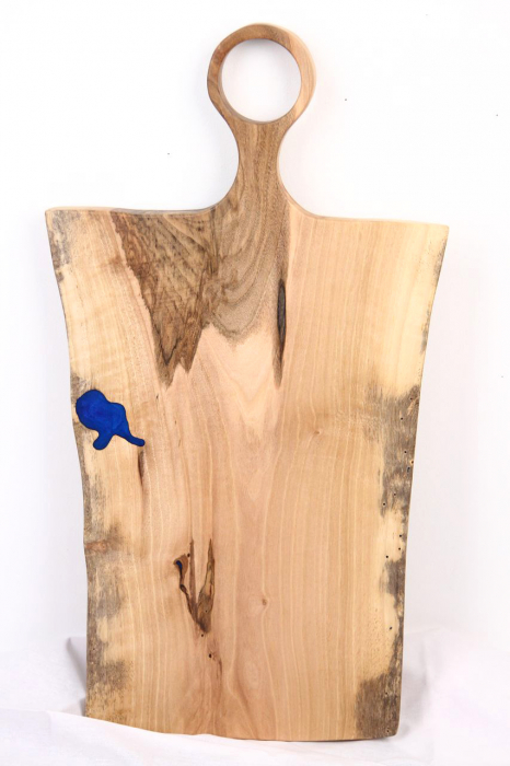 Platou servire din lemn de nuc 6