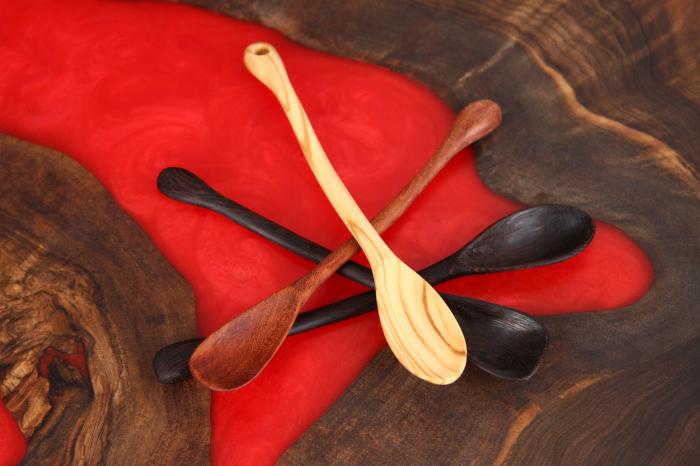 Lingurite din lemn, diverse esente [10]