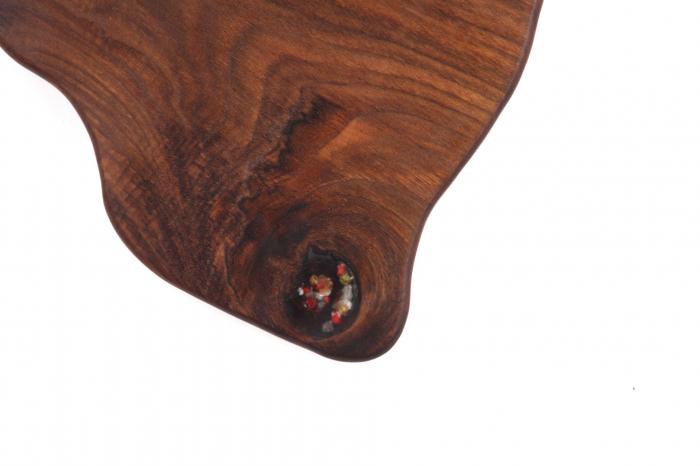 Tocator/Platou servire din lemn de nuc 3