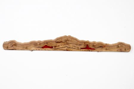 Cuier din lemn de maslin cu insertie de rasina epoxidica [5]