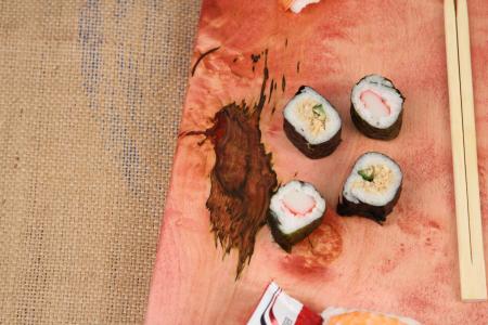 """Platou de servire """"Sushi""""4"""