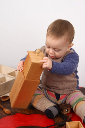 Cutia permanentei cu sertar din placaj (+ 8 luni)2