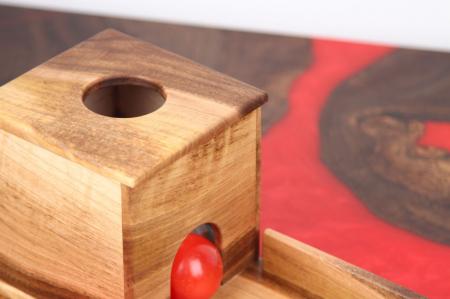 Cutia permanentei cu rampa din lemn masiv (+ 8 luni)2