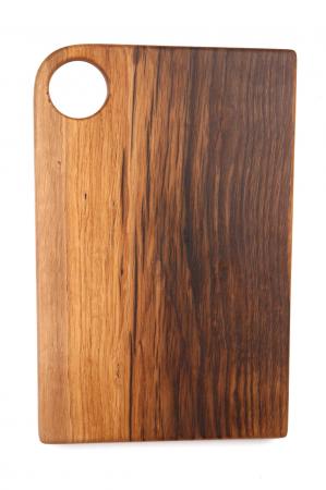 "Tocator din lemn de stejar ""Plane""2"