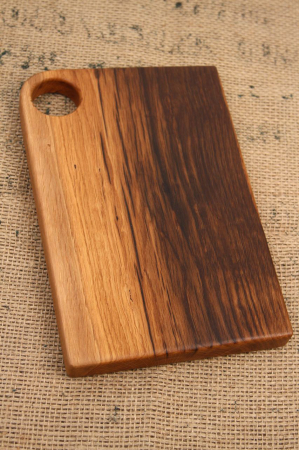 "Tocator din lemn de stejar ""Plane""0"