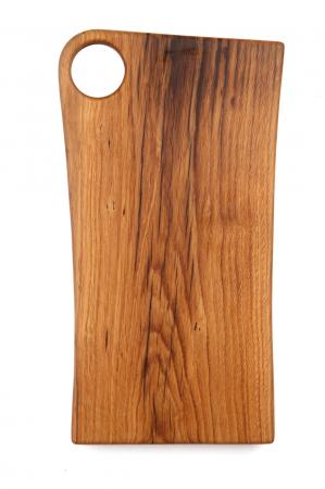 """Tocator din lemn de stejar """"Obelisc""""2"""