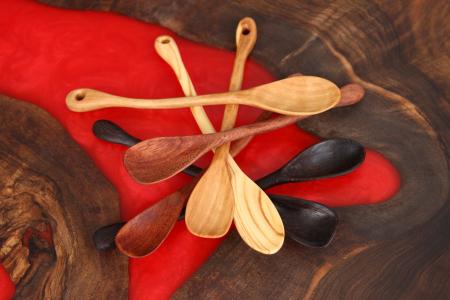 Lingurite din lemn, diverse esente [4]