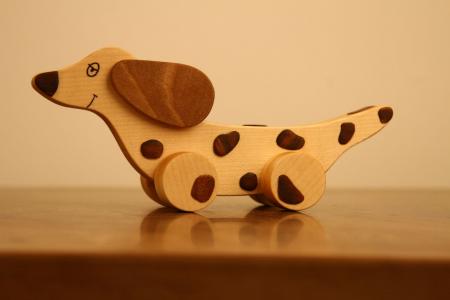 Jucarie din lemn Soricar0