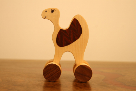 Jucarie din lemn Dromader5